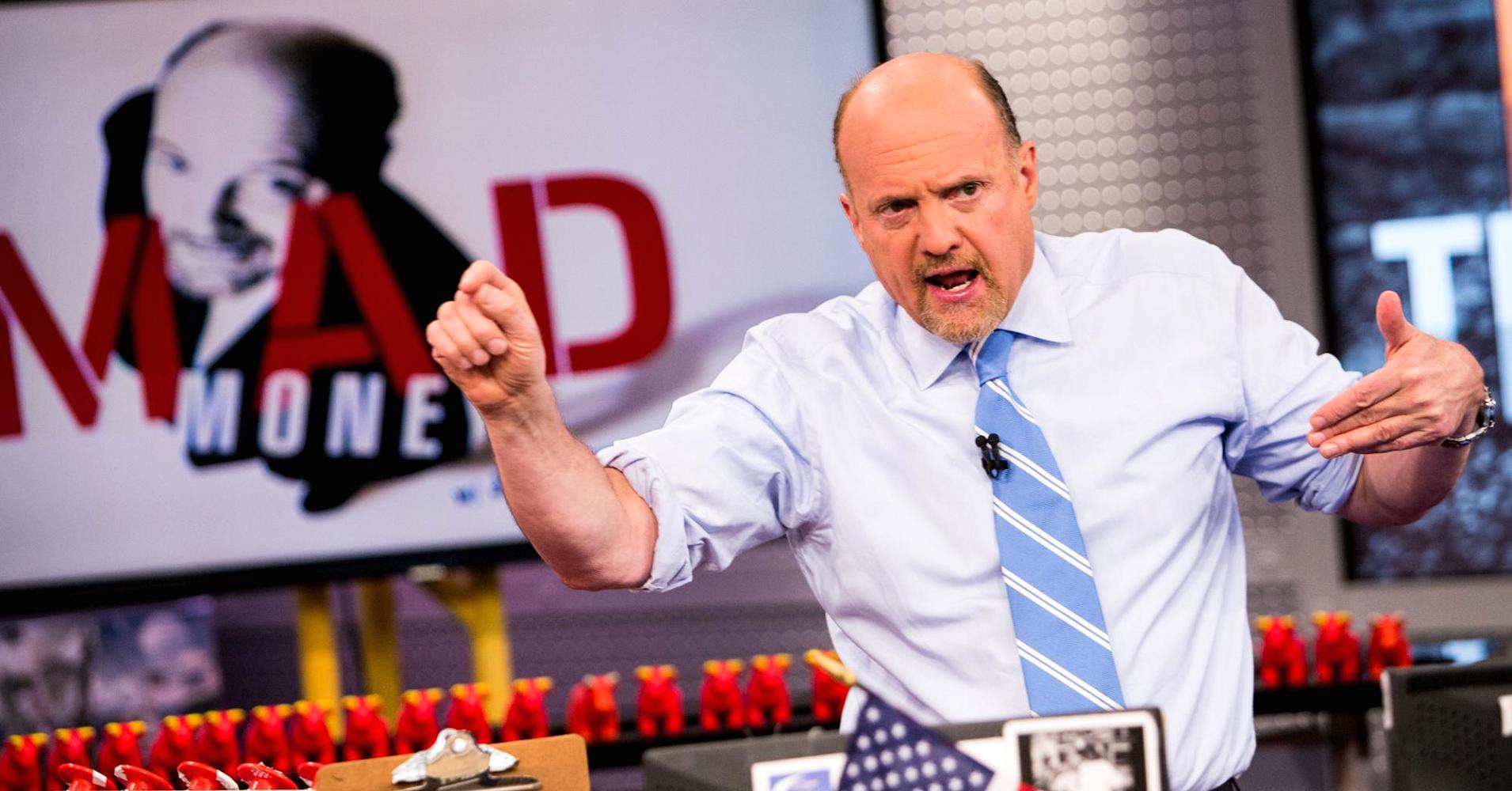 Jim cramer gambling stock recommendations problems about sports gambling