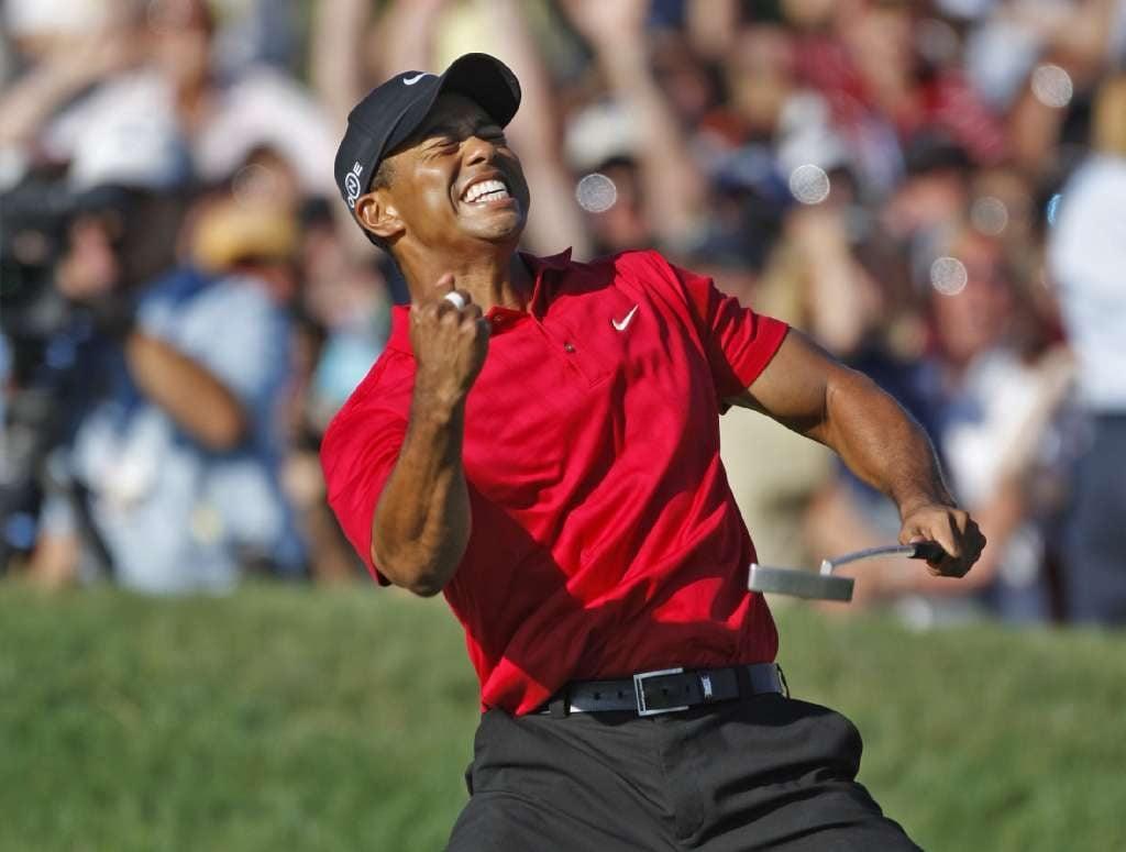 Tiger Woods odds Las Vegas sportsbooks