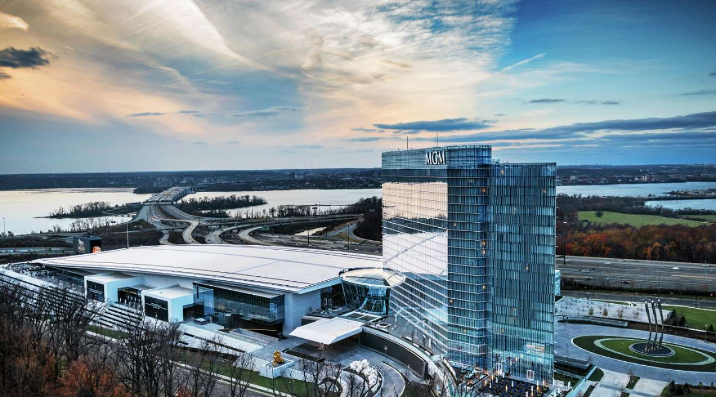 MGM National Harbor Maryland casino revenue