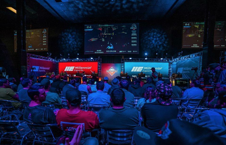 eSports arena Las Vegas millennial