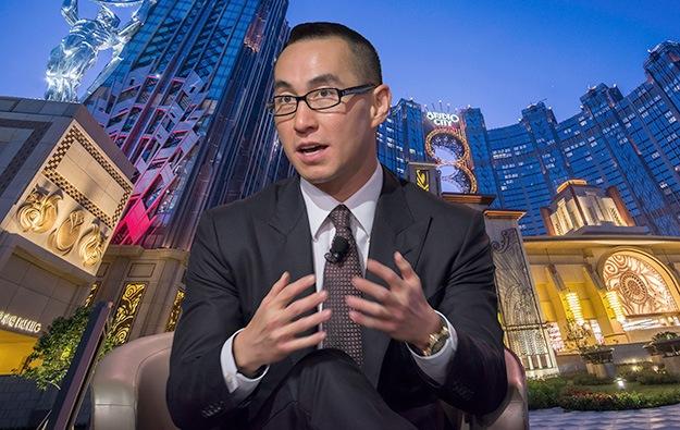 Macau economy gambling Lawrence Ho