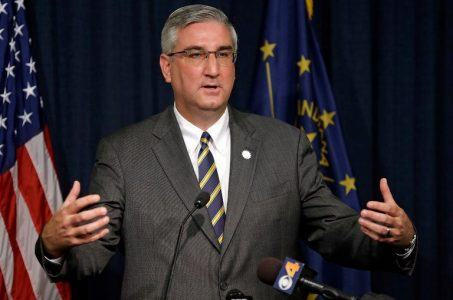 Indiana casino admission tax Eric Holcomb