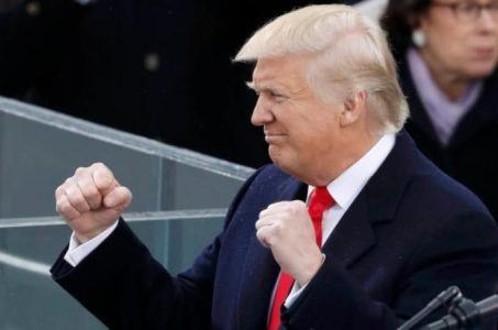 President Trump sports betting Super Bowl LI