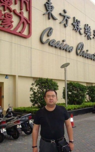 Kim Jong-nam casino selfie Facebook