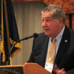 New Hampshire Senator Lou D'Allesandro presents 19th casino bill.