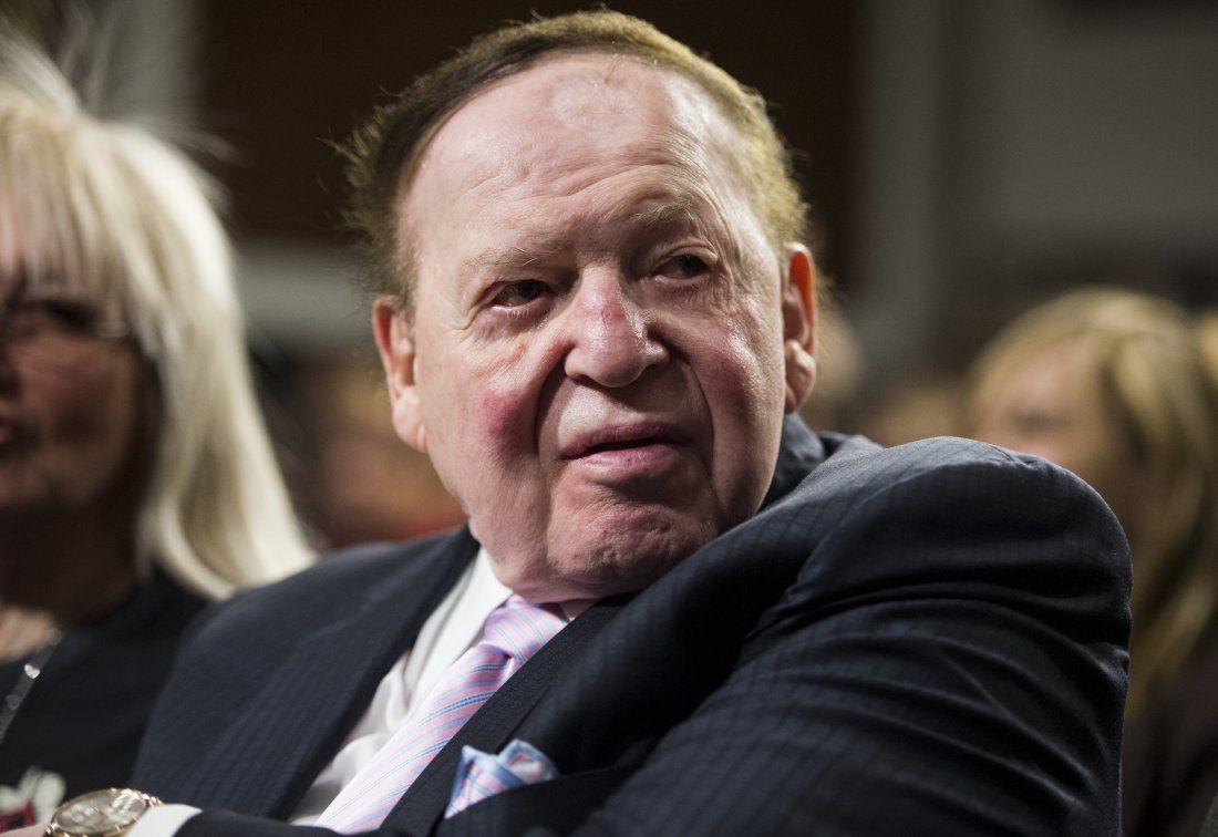 Sheldon Adelson Las Vegas Sands Japan casino