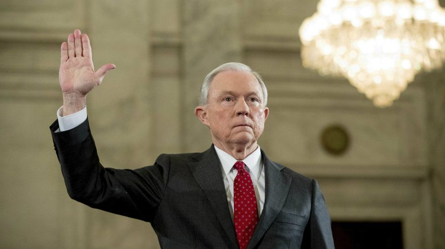 Attorney General Jeff Sessions online gambling