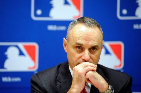 Major League Baseball Rob Manfred sports gambling