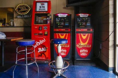 Idaho Lottery gambling machines