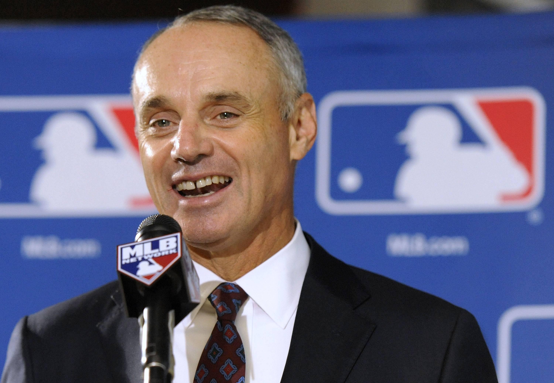 Las Vegas professional sports MLB Rob Manfred