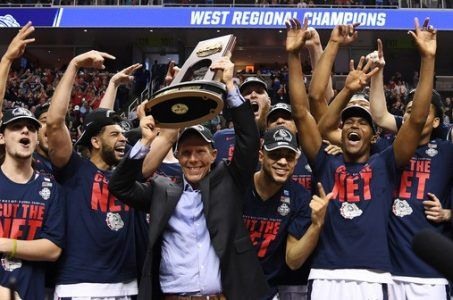 Final Four odds Gonzaga NCAA