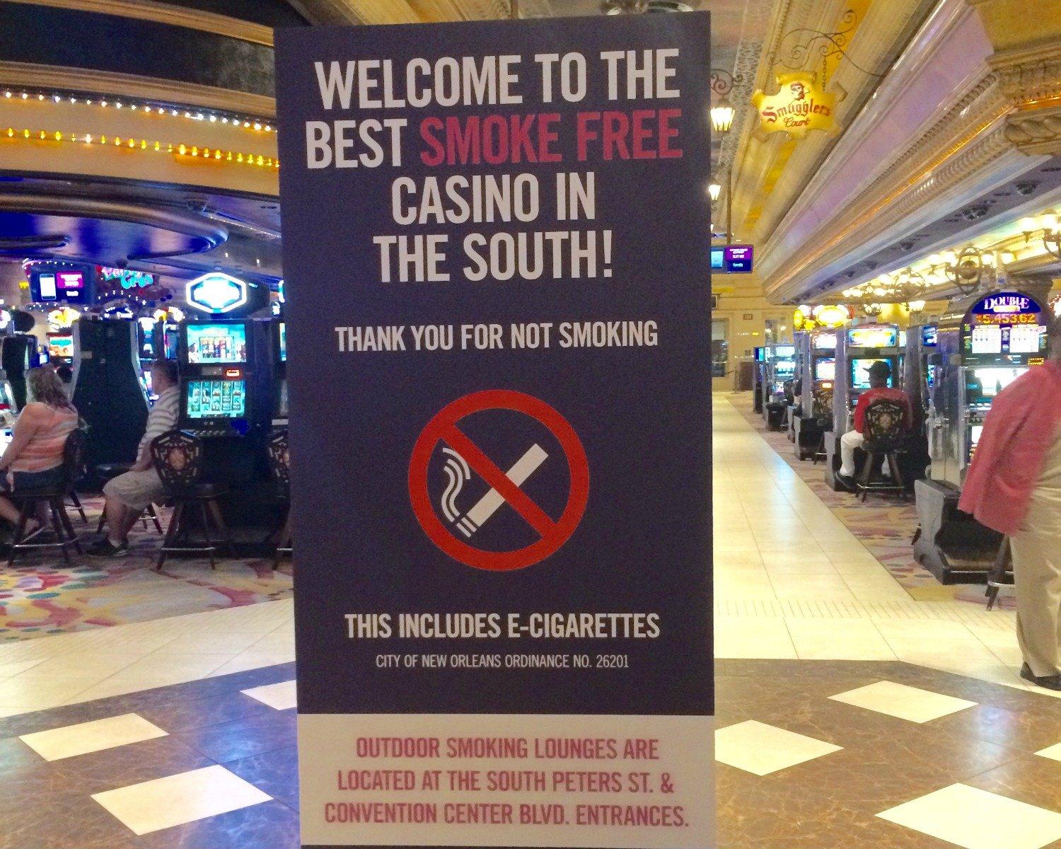 smoking bans in casinos Casinos, smoking bans, and revenues: a survey of casino gamblers in illinois  clyde w barrow and david r borges in 2006, the us surgeon general.