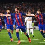 Sergi Roberto scores winning goal against PSG