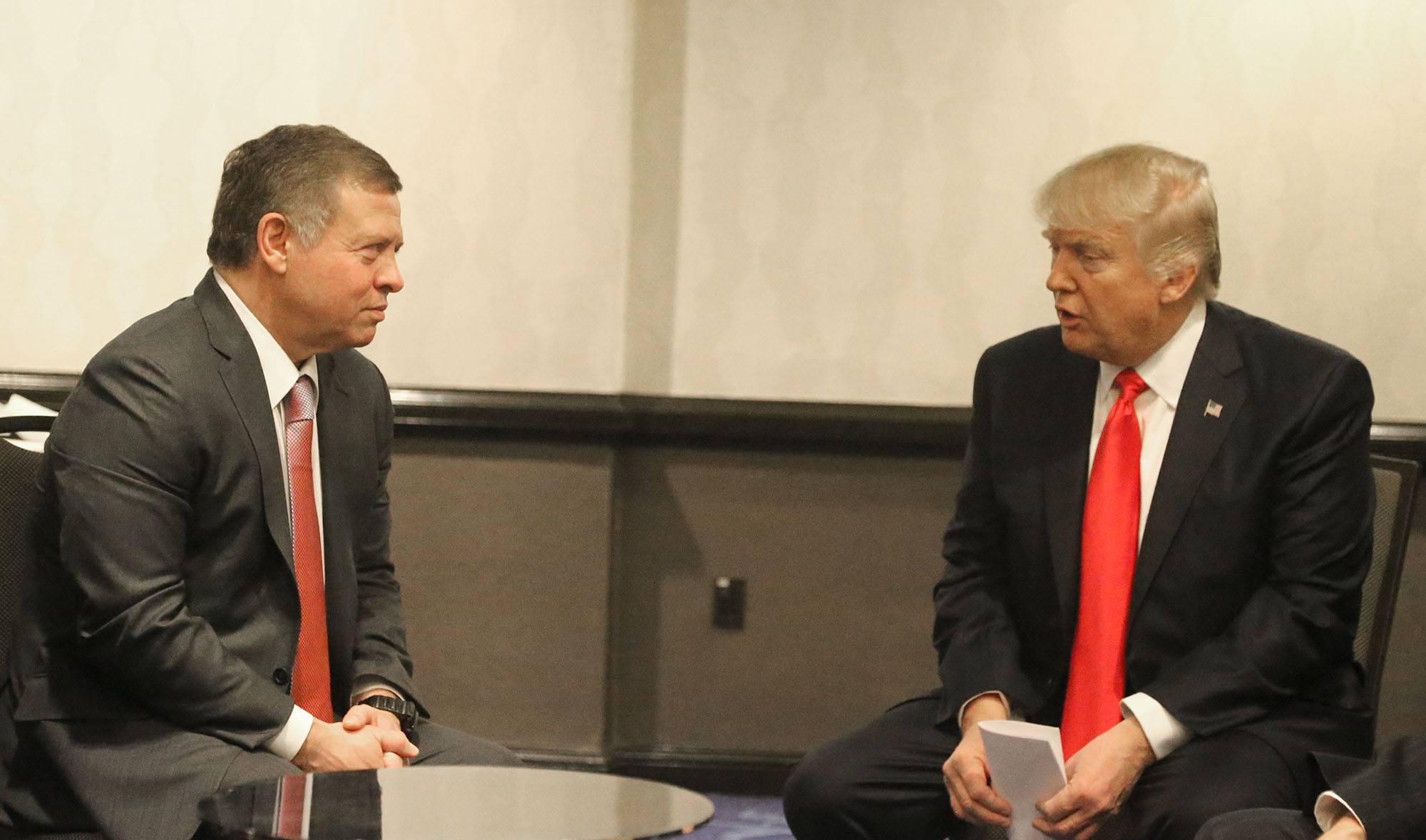 President Trump Jordan casino trademark