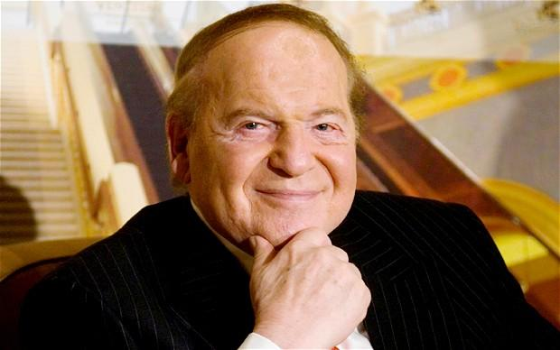 Adelson number 20 on Forbes Billionaires List