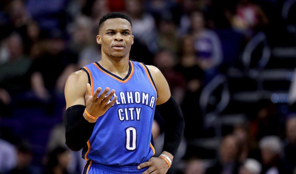 NBA MVP sportsbook odds Russell Westbrook