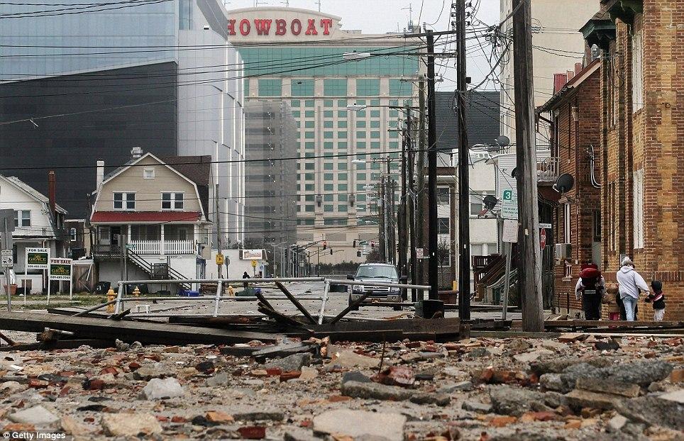 Atlantic City Council microgrid Hurricane Sandy