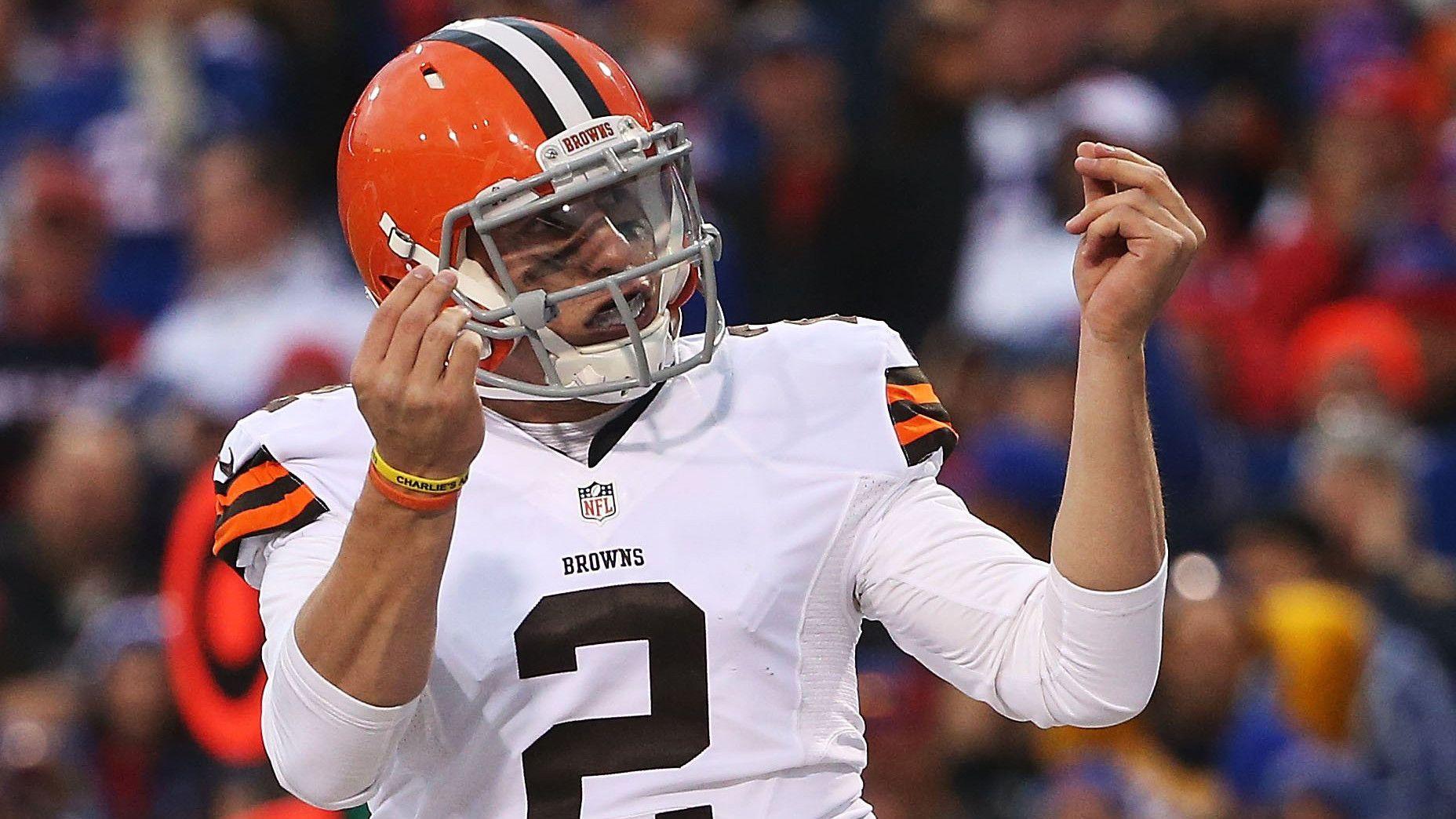 Johnny Manziel odds NFL Cleveland Browns