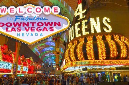 downtown Las Vegas Fremont Street Nevada