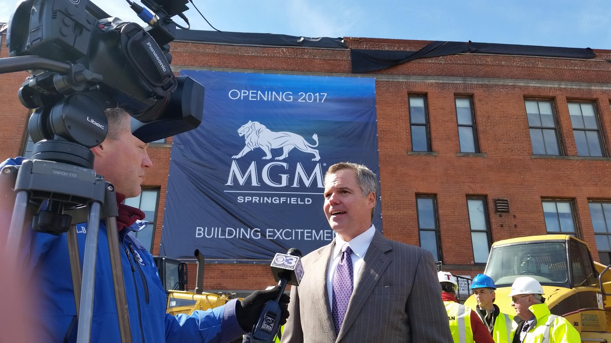 MGM Springfield Jim Murren Connecticut casino
