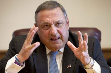 Maine casino proposal hearing Paul LePage