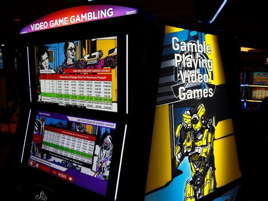 Video Game Gambling Machine