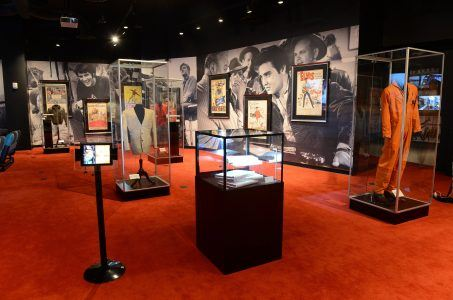 Elvis memorabilia Westgate International Las Vegas