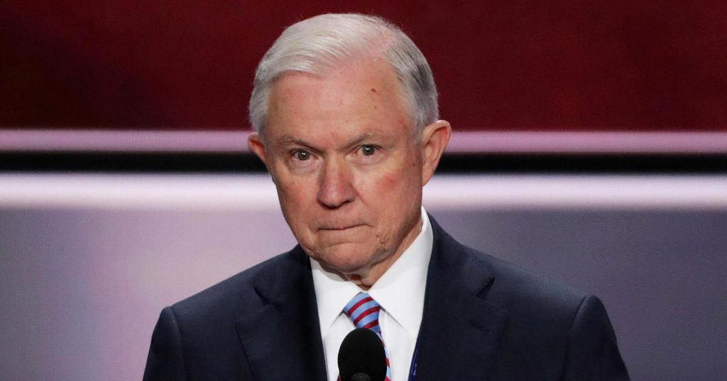 Trump AG Jeff Sessions federal online gambling ban rumors