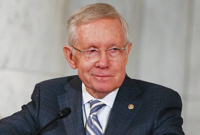 Harry Reid Nevada senator UNLV Law MGM