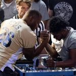 NFL Flexes Muscles Over Players' Arm Wrestling Contest at MGM Grand