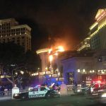 Bellagio roof fire Clark County