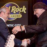 Steven van Zandt and Chris Christie support the Hard Rock Atlantic City