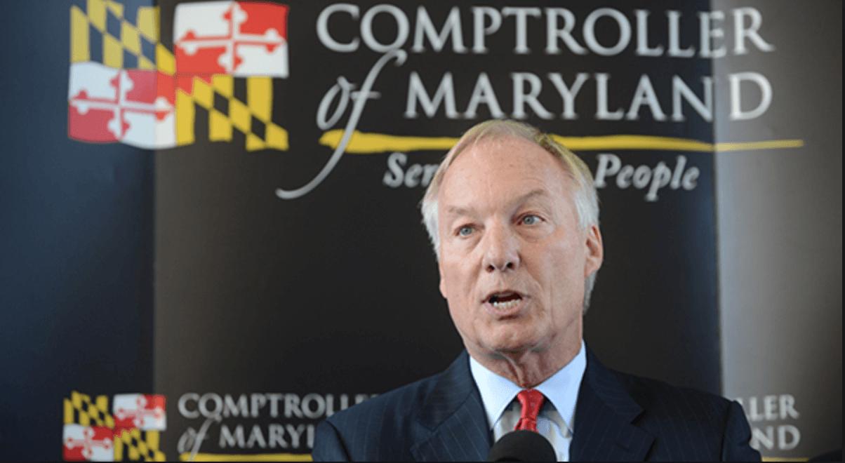 Maryland casinos Comptroller Peter Franchot