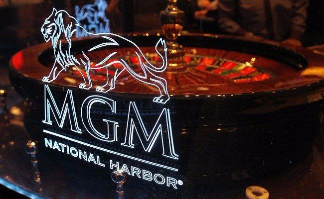 Maryland casinos revenue MGM National Harbor