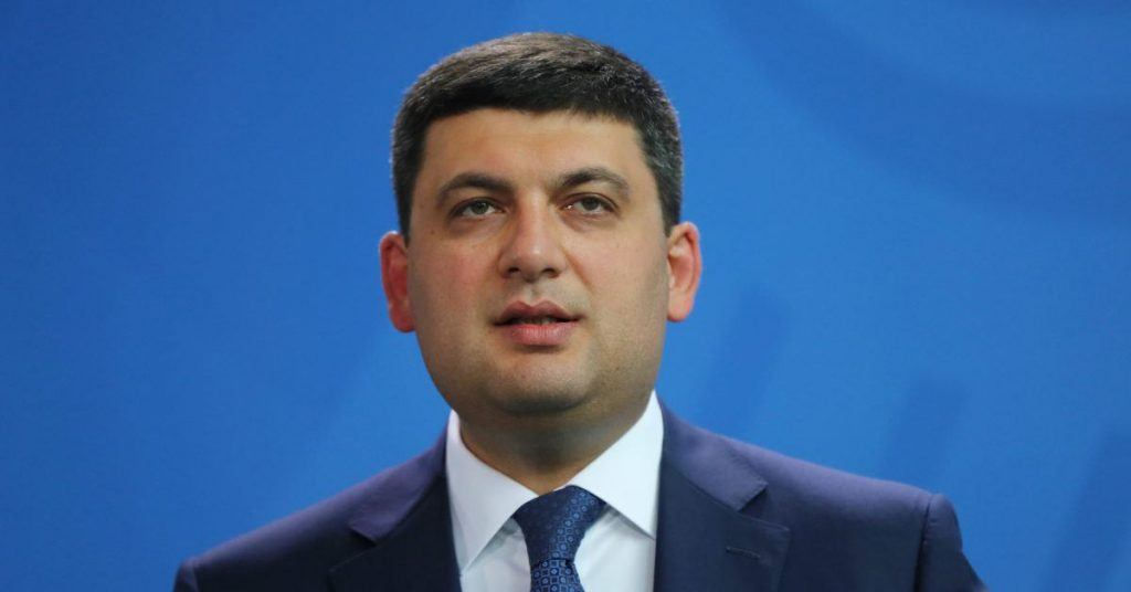 Ukrainian Prime Minister Volodymyr Groysman prepares for gambling reforms.