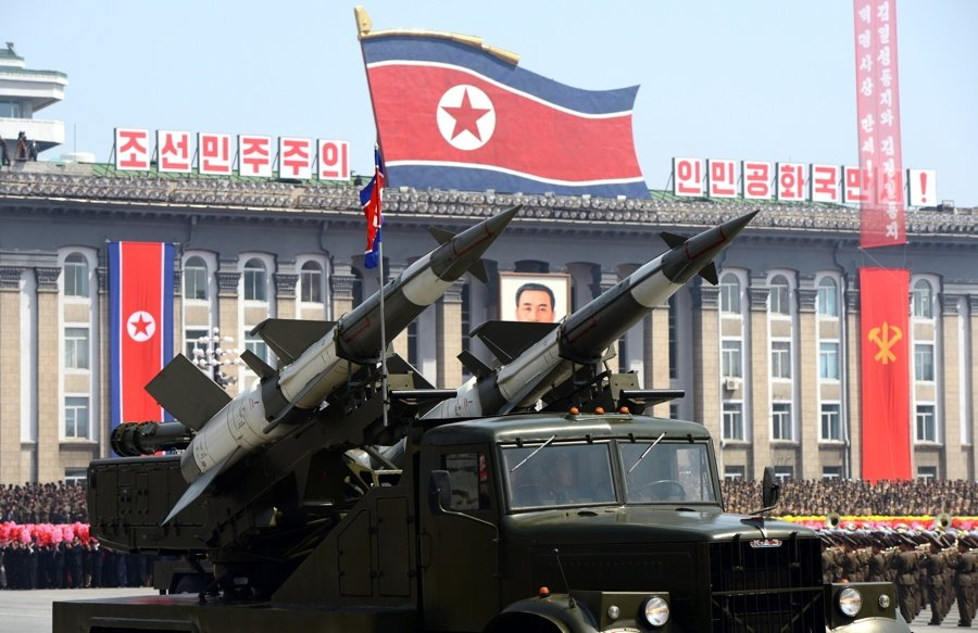 South Korea casino Paradise City missile tests