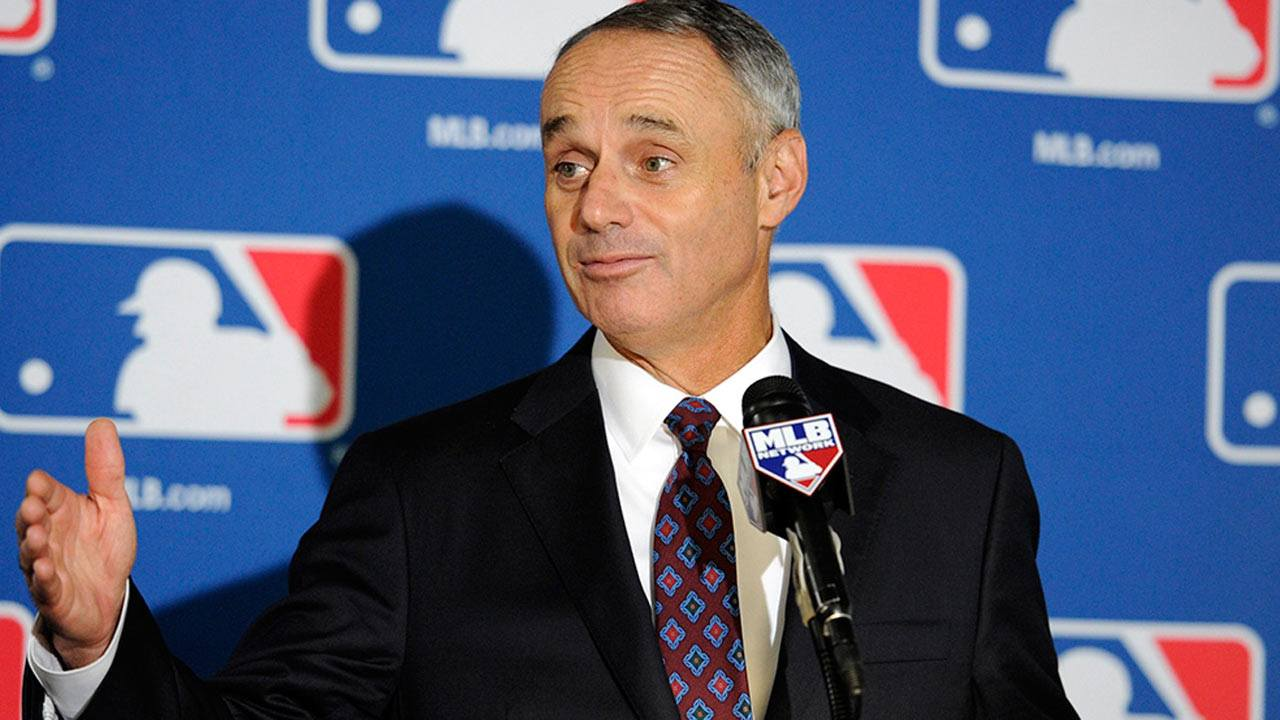 Major League Baseball Rob Manfred Las Vegas