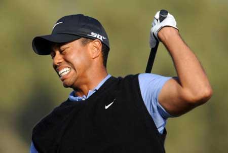 Tiger Woods back