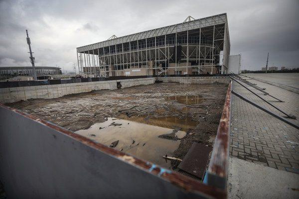Olympics hosting Rio gambling