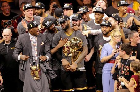 NBA Finals odds Cavaliers Warriors