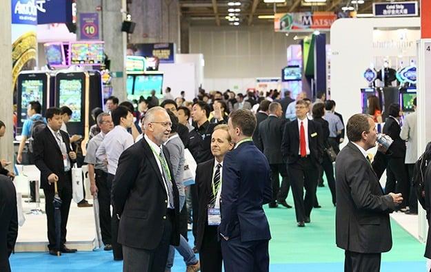 G2E Asia show floor