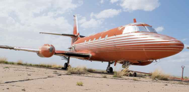 Elvis presley private jet for sale