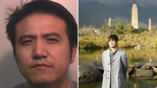 Ming Jiang and Yang Liu body in a suitcase murderer sentenced