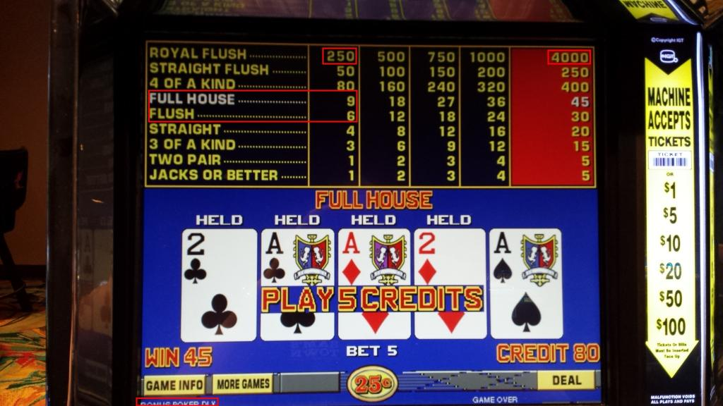 Video Poker Casino