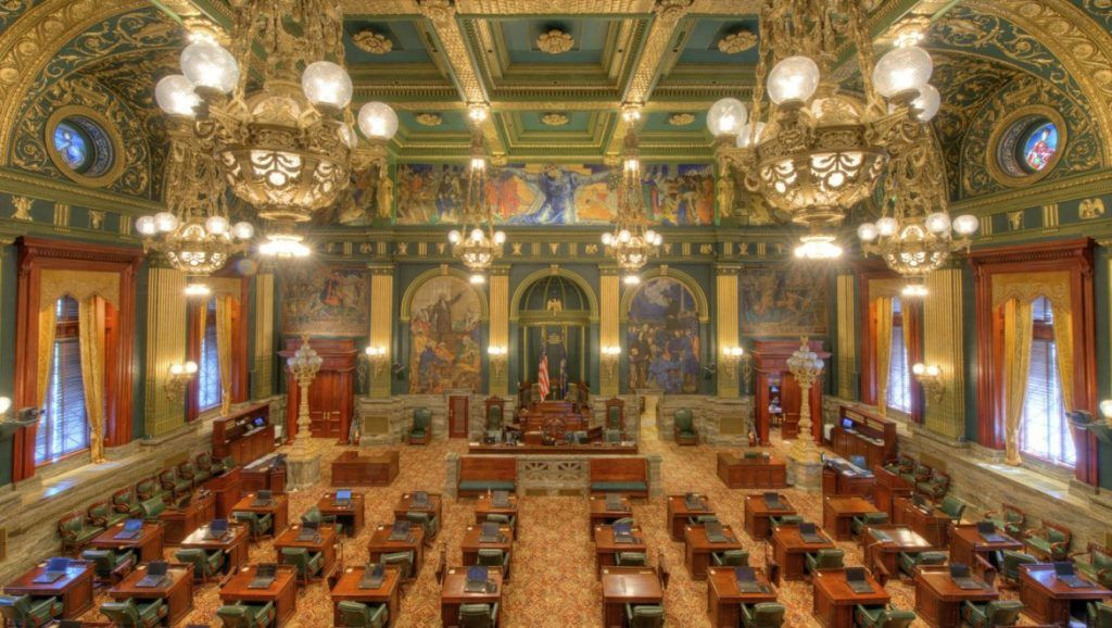 Pennsylvania senate chamber
