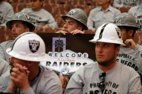 Las Vegas Raiders football stadium