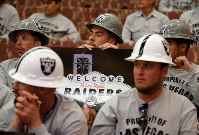 Financing for Las Vegas Raiders Stadium Ahead of Schedule