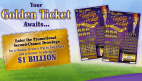 Willy Wonka Golden Ticket lottery game