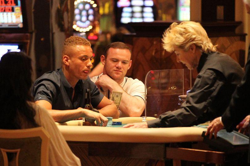 Wayne Rooney gambling