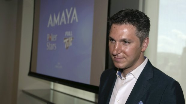 Amaya changes name to The Stars Group, separates from Baazov.